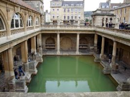 The Roman Bath House by Flutterby101