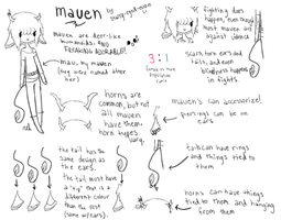 mauen ref sheet by starry-eyed-euon