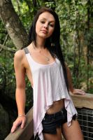 Tara - pink top revisited 1 by wildplaces