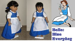 American Girl Doll Belle Blue by ProtectorKorii