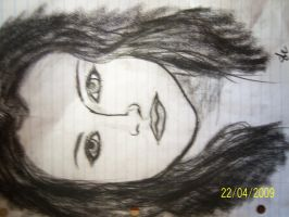 Girl in Charcoal by tom-girl5973