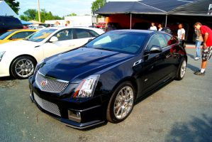 The Cadillac CTS-V Coupe by rioross
