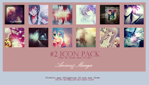 #2 Icons Pack - Anime and Manga by Ainhel