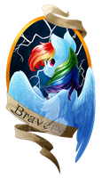 Medallion - Bravery by FuyusFox