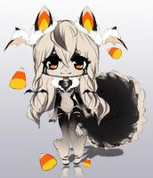 Halloween Anthro Adopt Auction [CLOSED] by MegoMyLego