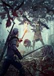 The Witcher 3 Wild Hunt Leshen Cover2 by Scratcherpen