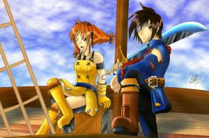 The Skies of Arcadia by sam241