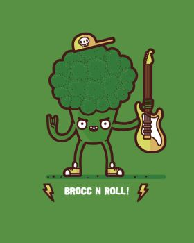 Brocc and roll by randyotter