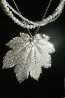 Winter Necklace by faerykisses