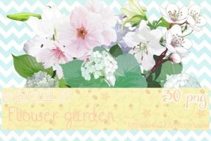 Pack 7 - Flower Garden - 30 png. by Keary23