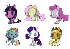 Don't Starve Ponies by PegaSisters82