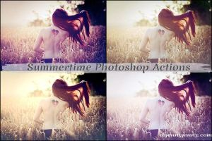 Summertime Photoshop Actions by ibjennyjenny