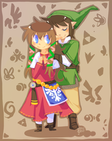 TRIFORCE by ClefdeSoll