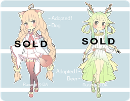 Kemonomimi Adopt #1 [CLOSED] by Aruella