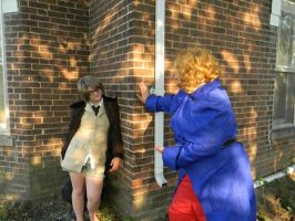 England's run and hide adventure! part 4 by okamixcosplayer