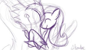Spirited A-Yay Sketch by ShowtimeandCoal