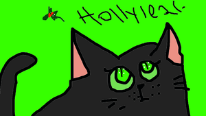 Hollyleaf of ThunderClan by Rainstar-of-LakeClan