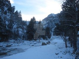 South St Vrain River in December 2013 1 by Collidoscope