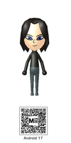 Android 17 Mii QR Code by Knuxamyloverfan