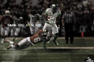 Thank You Josh Huff Wallpaper by PFDesigns