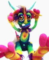 Rainbow Zotz Goblin- by Tanglewood-Thicket