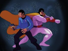 SpockGhost by SeanMcFarland