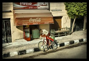 Red and Coke  - Egypt  trip by kenpunk79