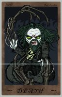 Rob Zombie Tarot Card by happymonkeyshoes
