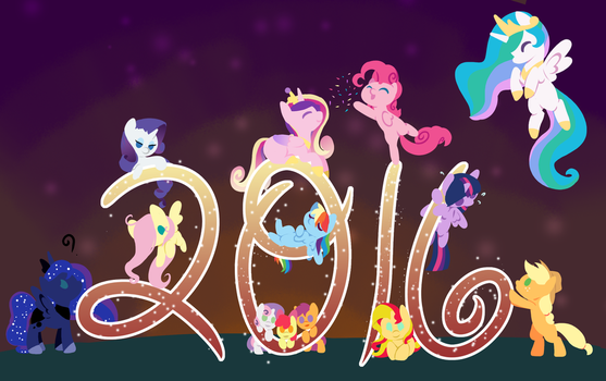 On to a New Year by FuyusFox