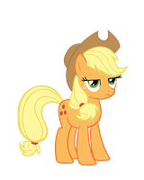 Applejack Disapproves by Nyax