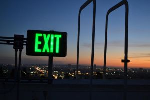 EXIT by DeevElliott