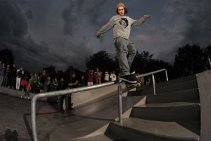 Rob Maatman, Smith grind by eddiethink
