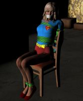 Supergirl chairtied by detstyle