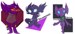 Sableye Lineage by aftertaster7