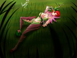 Zyra - league of legends by ramahnt