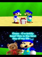 SMG4's gift to Enzo by MarioandSonicFan19