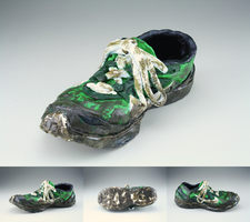 Ceramic Shoe by a-moment-at-midnight