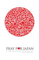 Pray for Japan by totoproduction