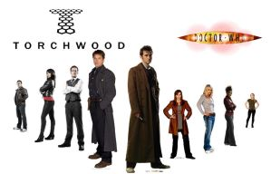 Torchwood and Doctor who by amk445