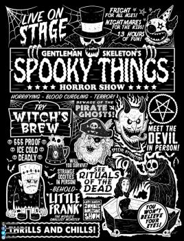 Spooky Things Poster II by chrisraimoart