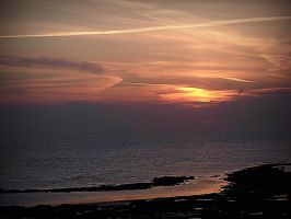 Audresselles sunset by April-Mo