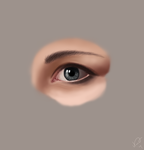 Eye Study by amoebae
