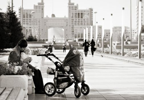 being dad in kazakhstan by PortraitOfaLife