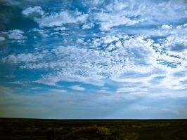Stunning Blue Sky by Youcef07