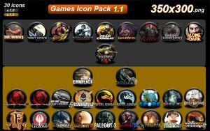 Games Icon Pack 1.1 by LUGHN4S4D