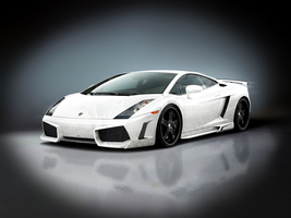 Lamborghini Gallardo Wallpaper - Grunge by NiinjaStyle