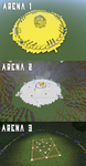 Hunger games Arenas by animeroxygirl