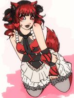 Request Red Kitsune by Cuine