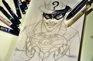 WIP - The Riddler by thefreshdoodle