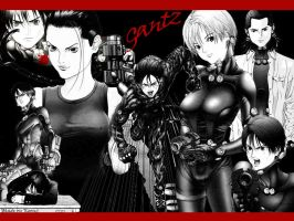 Gantz fan by Koonz